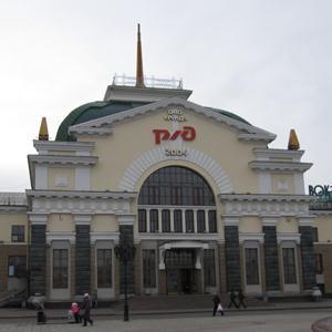 Железнодорожные вокзалы Пушкинских Гор